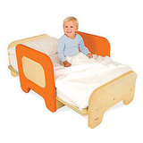 Space Saving Convertible Toddler Bed