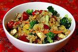 Quinoa, Tofu, and Veggies