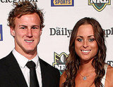 Daly Cherry-Evans and Vessa Rockliff