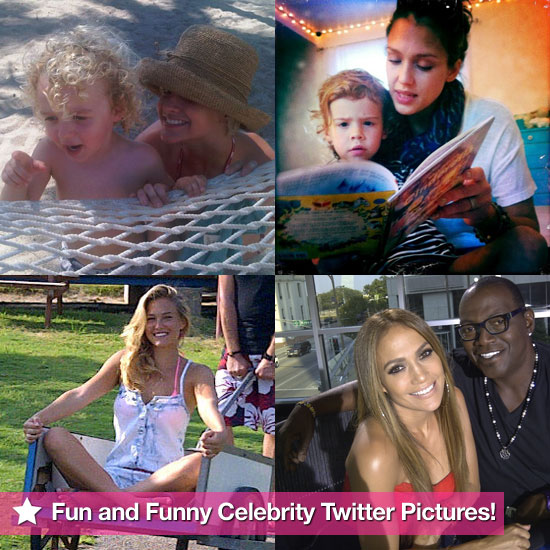 Jennifer Lopez, Jessica Alba, Bar Refaeli, and More in This Week's Fun and Funny Celebrity Twitter Pictures!