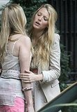 Blake shared a hug with one of her costars.