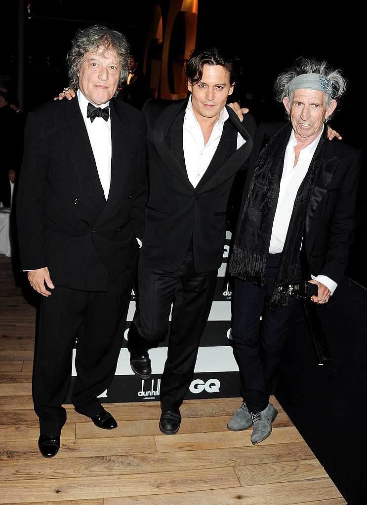 See Johnny Depp's Night Out With Keith Richards at the GQ Party!