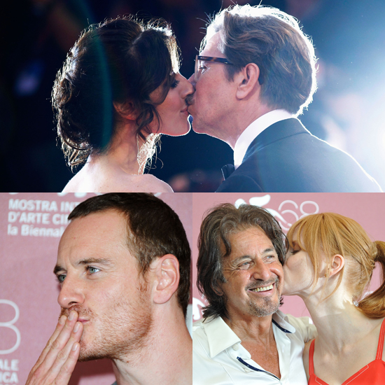 That's Amore: Kissy Moments at the Venice Film Festival