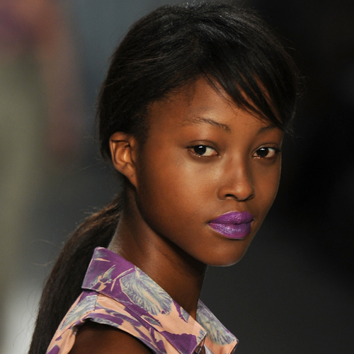 The Violet Lipstick at Richard Chai Love