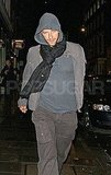 Chris Martin goes casual.