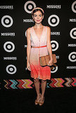 Nora Zehetner helped kick off Fashion Week.