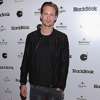 Alexander Skarsgard at BlackBook's 15th Anniversary Party