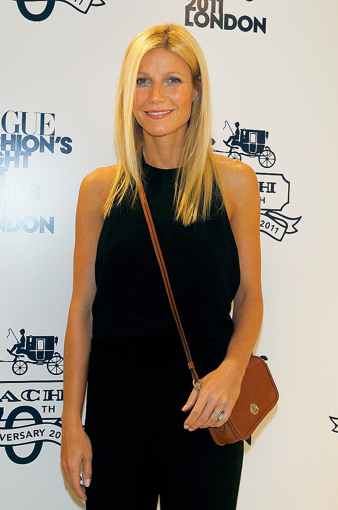 Gwyneth Paltrow at a Fashion's Night Out party in London.