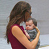 Victoria Beckham and Harper in NYC Pictures