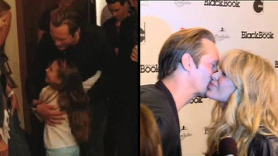 Video: Alexander Skarsgard Hugs a Fan and Kisses a Costar