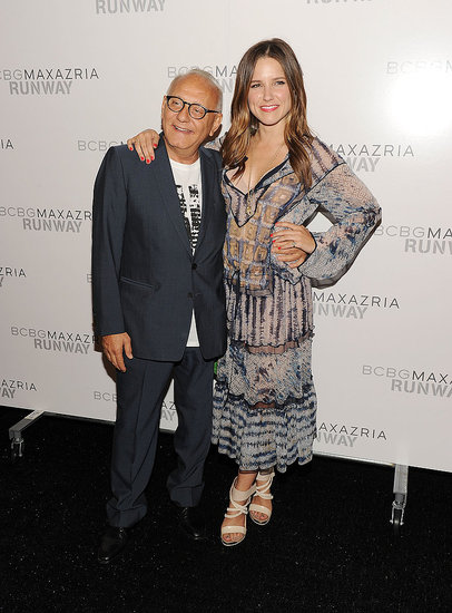 Sophia Bush and Max Azria.