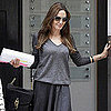 Angelina Jolie Leaving an Appointment in London Pictures