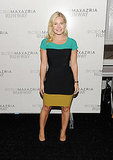 Elisha Cuthbert at the BCBGMAXAZRIA show.