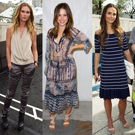 New York Fashion Week Street Style Edition — Sophia Bush, Erin Wasson, and More!