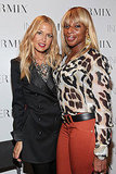 Rachel Zoe poses with Mary J. Blige.