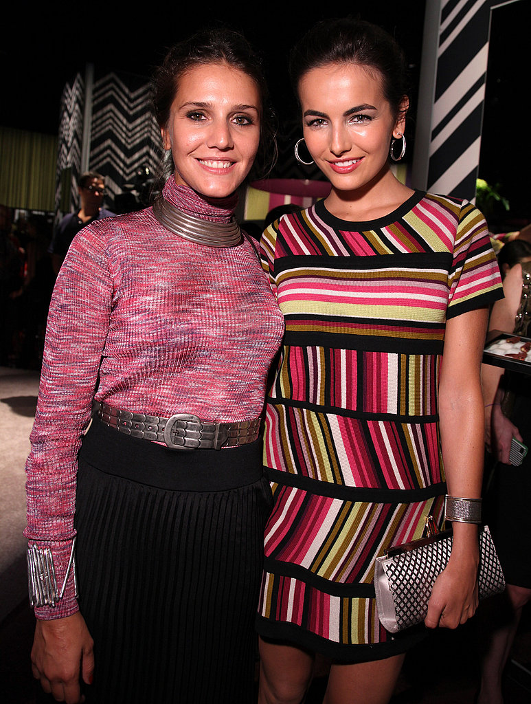 Camilla Belle and Margherita Missoni posed together.