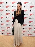 Rachel Bilson in a maxi skirt.