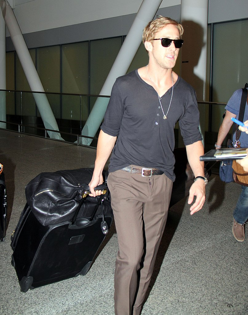 Ryan Gosling hot in Toronto.