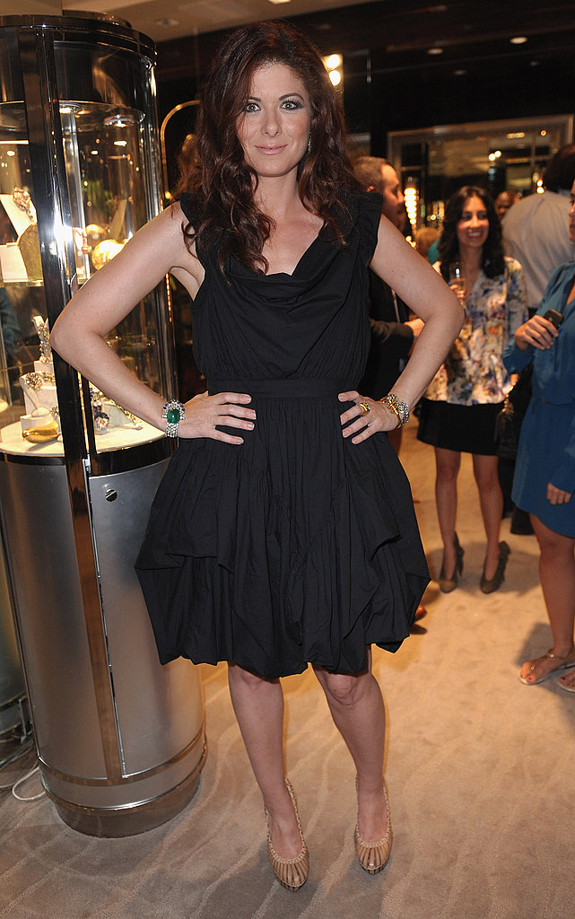 Debra Messing at Fred Leighton.