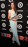 Alessandra Ambrosio attended the Missoni for Target collection in NYC.
