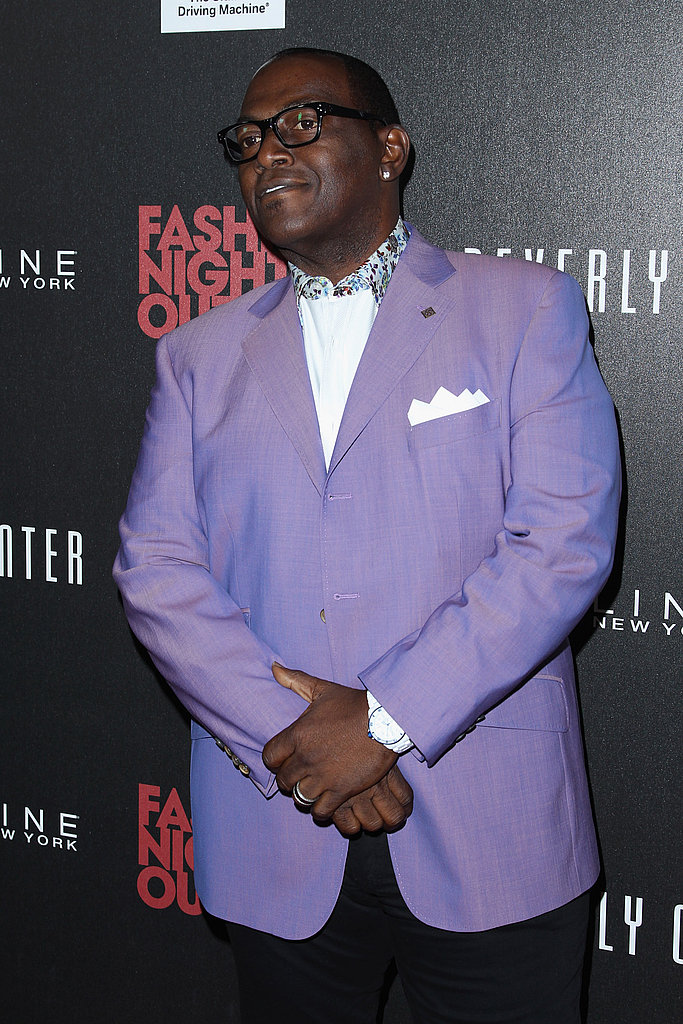 Randy Jackson at the Beverly Center for FNO.