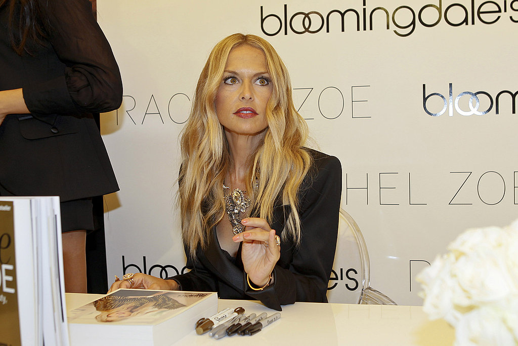Rachel Zoe at Fashion's Night Out.