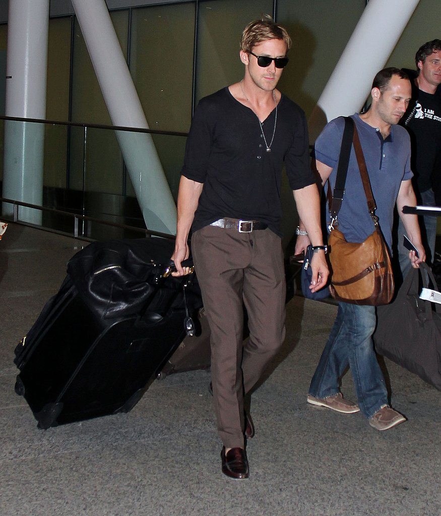 Ryan Gosling arrives in Toronto for the film festival.