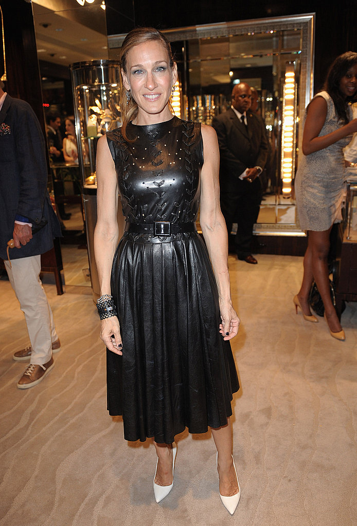 Sarah Jessica Parker wore Prabal Gurung on Fashion's Night Out.