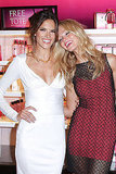 Alessandra Ambrosio and Erin Heatherton laughed at Victoria's Secret.