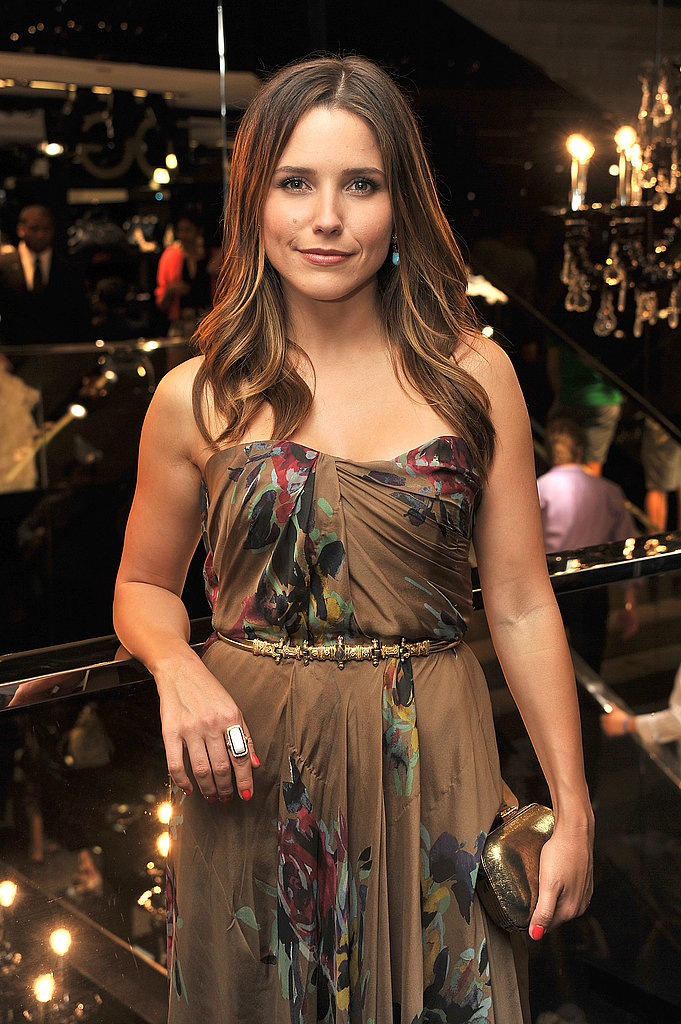 Sophia Bush partied at Dolce & Gabbana on Fashion's Night.