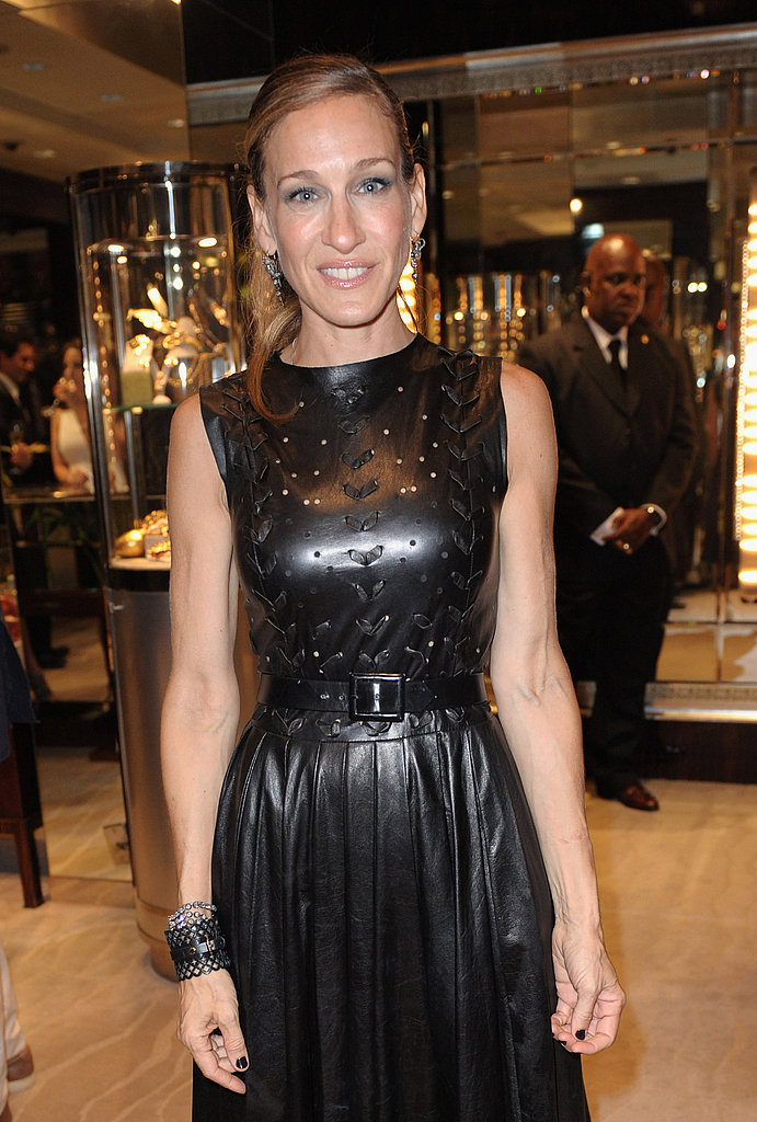 Sarah Jessica Parker on Fashion's Night Out.