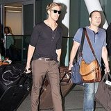 Ryan Gosling Arrives in Toronto For Double the Film Festival Fun