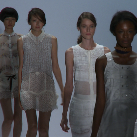 Watch Charlotte Ronson's 2012 Spring Runway Show at New York Fashion Week