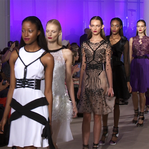 Prabal Gurung Spring 2012 Full Runway Video