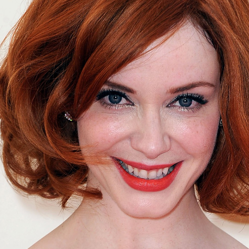 Christina Hendricks: Ravishing in Red