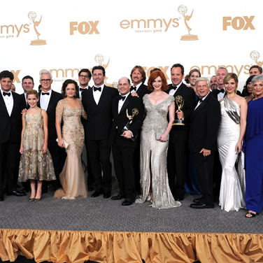 Mad Men Emmy Press Room Interview 2011
