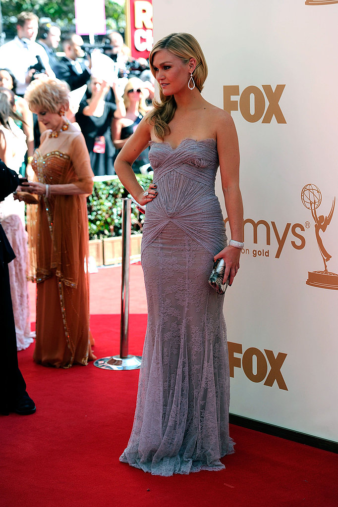 Julia Stiles at the Emmys.