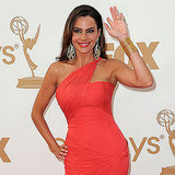Modern Family's Sofia Vergara waved to fans.