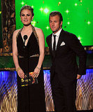 Anna Paquin and Scott Caan in black at the 2011 Emmy Awards