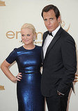 Will Arnett and Amy Poehler Bring Their Humor to the Emmys Red Carpet