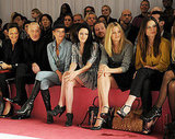 Kristen Stewart Debuts Dramatic Hair Alongside Kate Moss at London Fashion Week