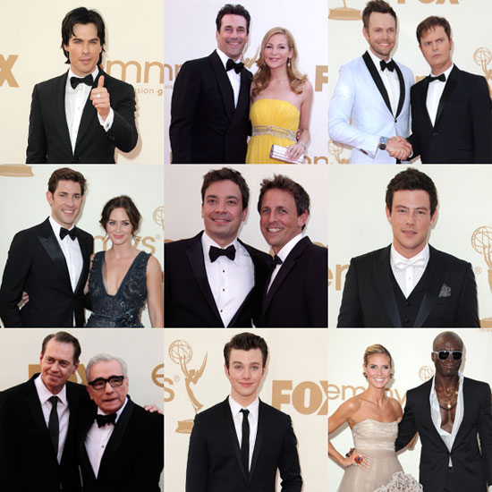 The Guys of Glee, The Office, Boardwalk Empire, and More Suit Up For the Emmy Awards!