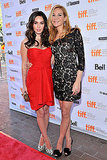 Megan Fox and Jennifer Westfeldt pose together.