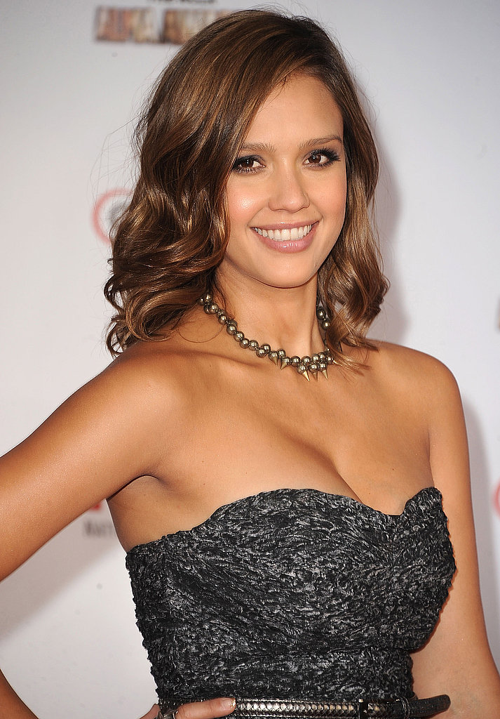 Jessica Alba at the ALMA Awards.