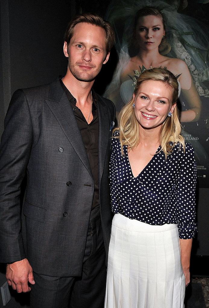 Alexander Skarsgard and Kirsten Dunst at the Melancholia premiere.