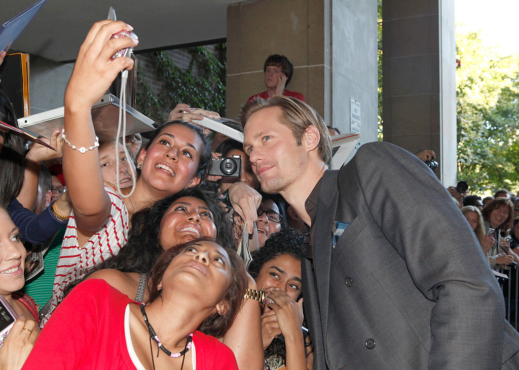 Alexander Skarsgard at the Melancholia premiere in Toronto.
