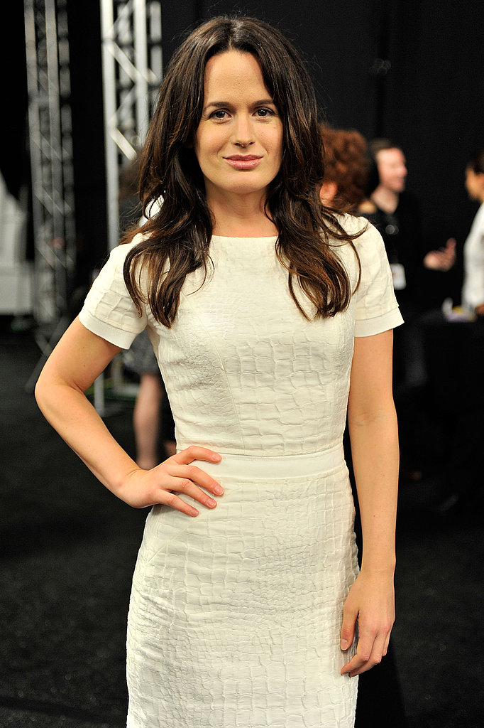 Elizabeth Reaser at the Carolina Herrera show.