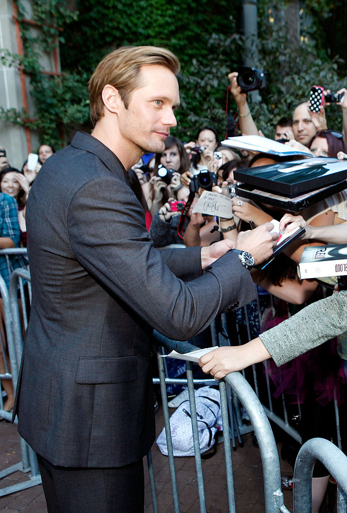 Alexander Skarsgard at the Melancholia premiere.