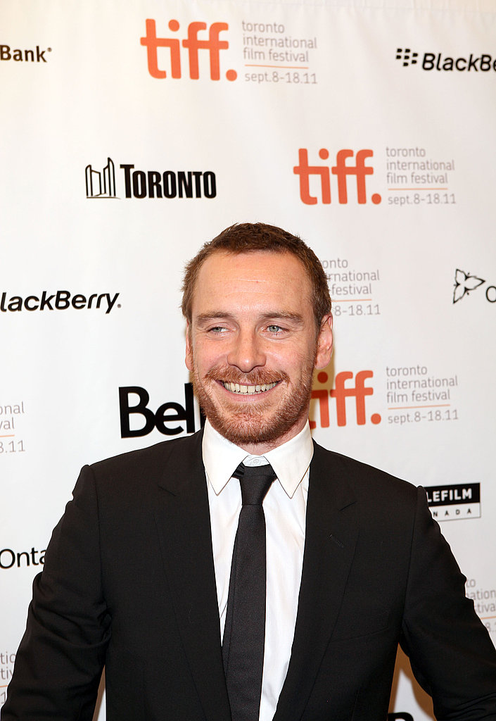 Michael Fassbender at the Shame premiere.