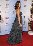 Jessica Alba on the red carpet after giving birth.